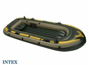 Bateau gonflable 4 places SEAHAWK 400 INTEX