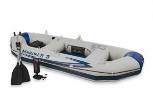 Set bateau gonflable 3 places MARINER 3 INTEX